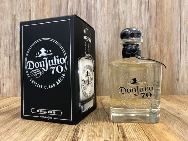 Tequila Don Julio 70 Añejo kristallhell, 700 ml