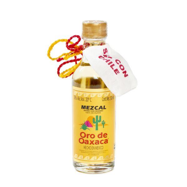 Mezcal Oro de Oaxaca, 50 ml