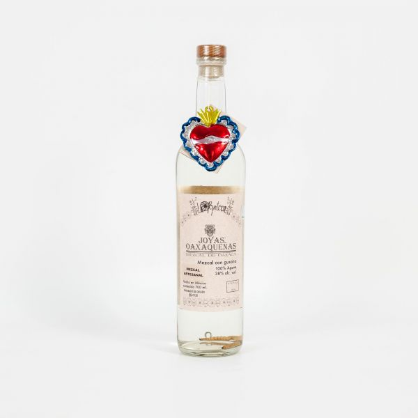 """Panchita la Peligrosa"" Joyas Oaxaquenas, Mezcal mit Wurm 700 ml"