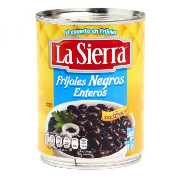 Ganze Schwarze Bohnen, La Sierra, 560 g
