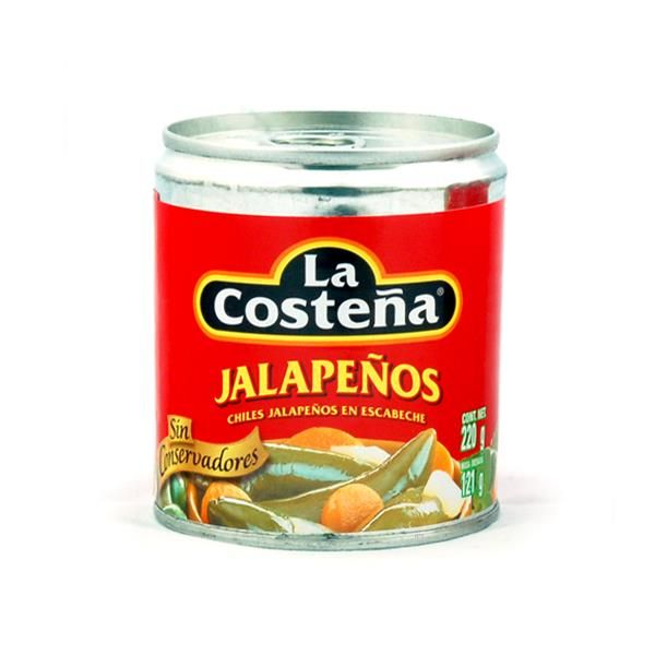 La Costeña Chile Jalapeño Enteros, 220 g