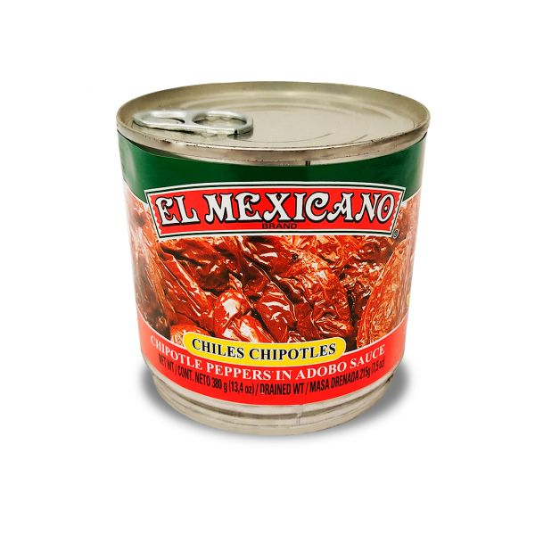 Chile Chipotle, El Mexicano, 380 g