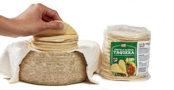 Kleine Mais-Tortillas für Flautas etc., lang haltbar, Ø ca. 10 cm