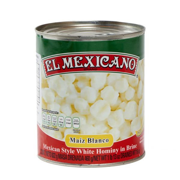 Weißer Mais für Pozole (Maiz Pozolero Blanco), 830 g