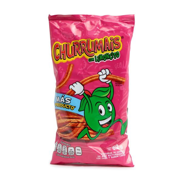 Churrumais, Mexikanische Mais-Chips, 62 g
