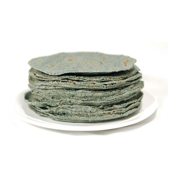 """Tortillas azúles de Maíz """"Caseras"""", congeladas, 500 g, Ø aprox. 15 cm"""