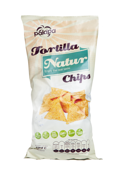 Tortilla Chips Natur, 450g