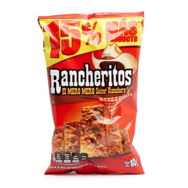 Rancheritos Mexikanische Chips, 60 g