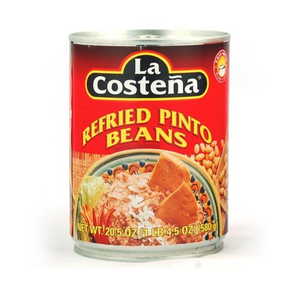 Braunes Bohnenmus (Refried Beans), La Costeña, 580 g