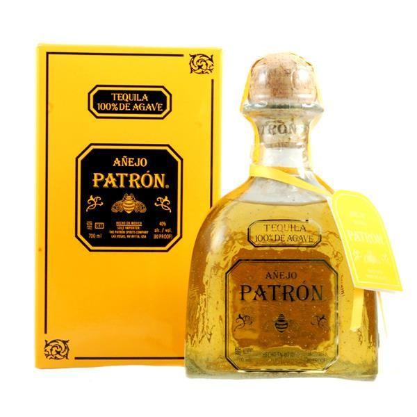 Tequila Patrón Añejo, 700 ml