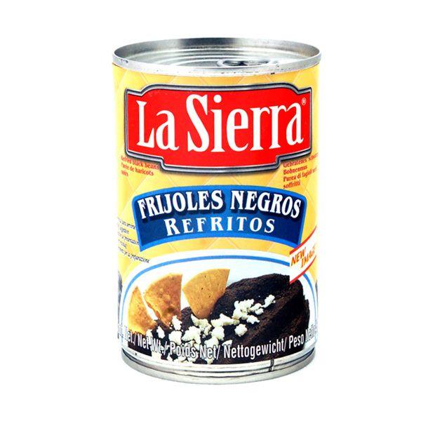 Schwarzes Bohnenmus, La Sierra, 430 g