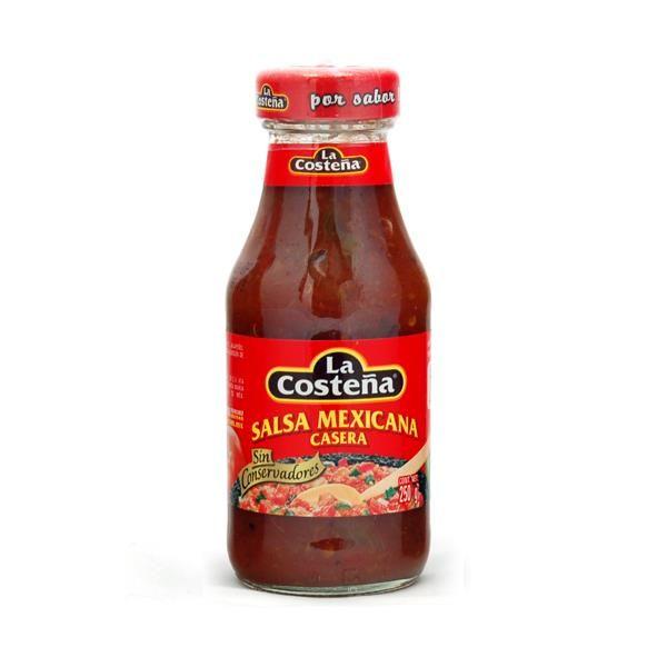 La Costeña Salsa Mexicana Casera, 250 g