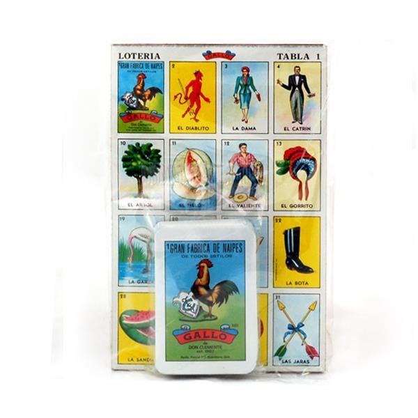 Lotería Gallo - mexikanisches Kartenspiel