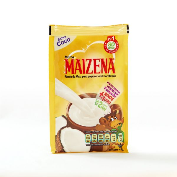 Maizena Atole-Pulver, Kokos-Geschmack, 47 g