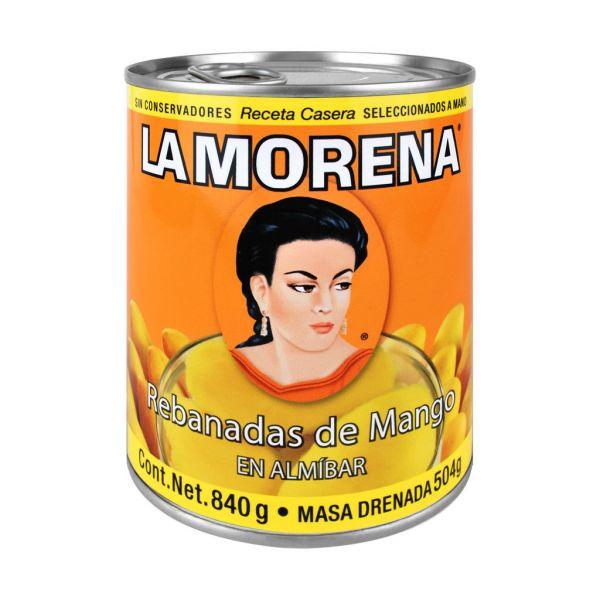 Rebanadas de Mango mexicano, La Morena, 840 g