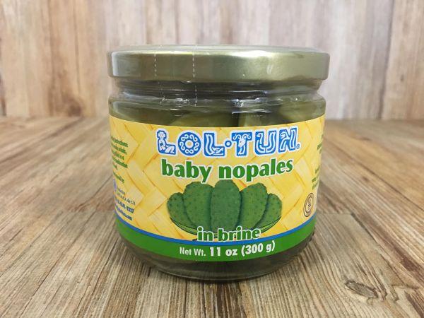 Baby Kaktus-Blätter (ganz) (Nopales), Lol-Tun, 300 g