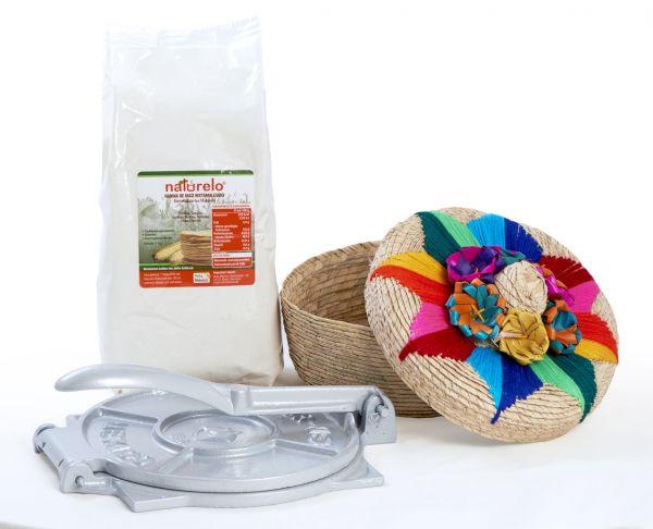 Geschenk-Set für selbstgemachte Tortillas