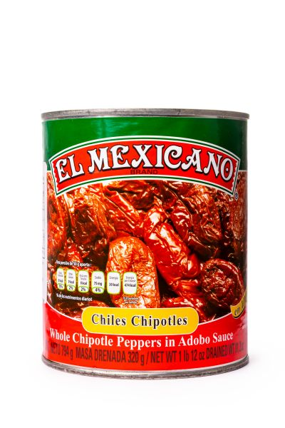Chile Chipotle, El Mexicano, 800 g