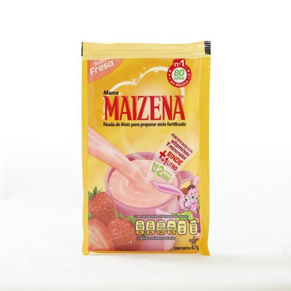 Maizena Atole-Pulver, Erdbeer-Geschmack, 47 g (MHD: Ende Juli.19)
