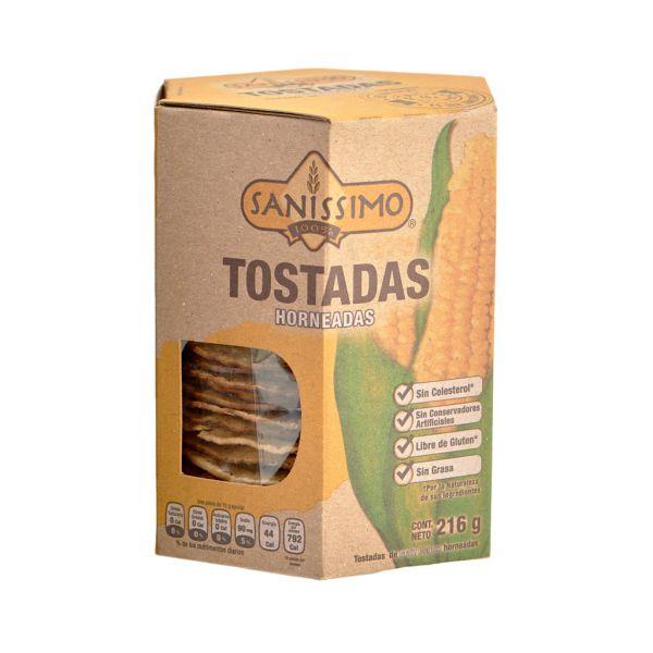 Mais-Tostadas Sanissimo, 216 g