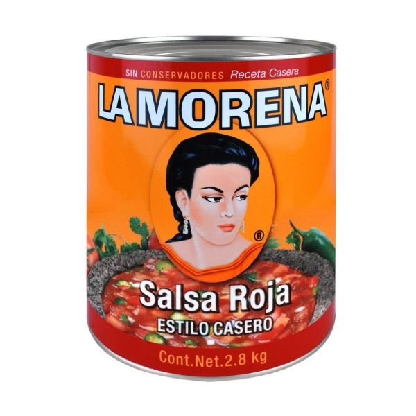 La Morena Salsa Roja Casera, 2800 g