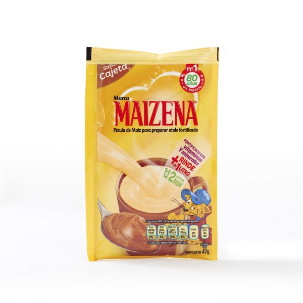 Maizena Atole-Pulver, Cajeta-Geschmack (Karamell), 47 g (MHD. Ende 06.19)