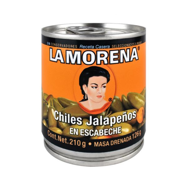 Jalapeño-Chilis (ganz), La Morena, 200 g
