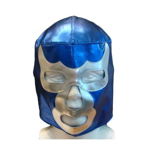 """Wrestling-Maske im Stil von Luchador """"Blue Demon"""""""