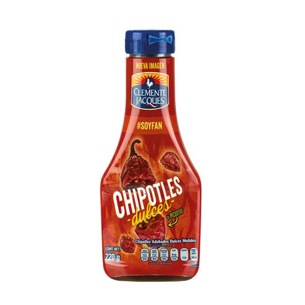 Chipotles-Chilis (gehackte), Clemente Jacques, 220g