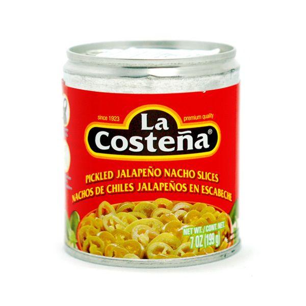 La Costeña Jalapeños in Scheiben für Nachos, 199 g