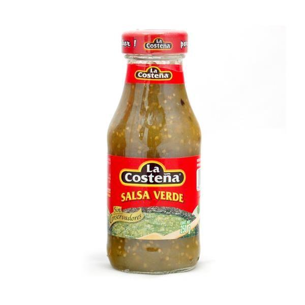 La Costeña Salsa Mexicana Verde, 250 g