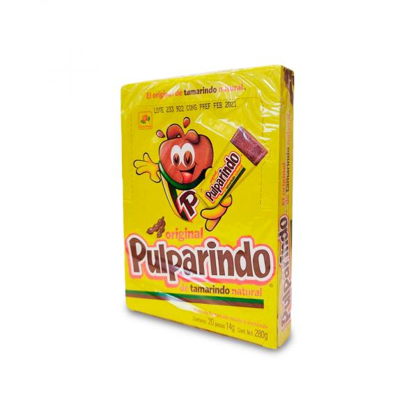 Pulparindo Original, dulce mexicano de tamarindo 280 g