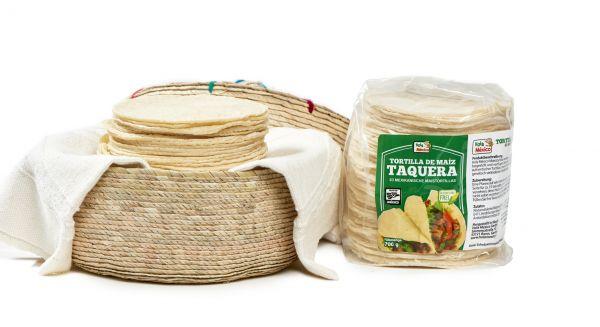 [Großpackung] Kleine Mais-Tortillas für Flautas etc., lang haltbar, Ø ca. 10 cm