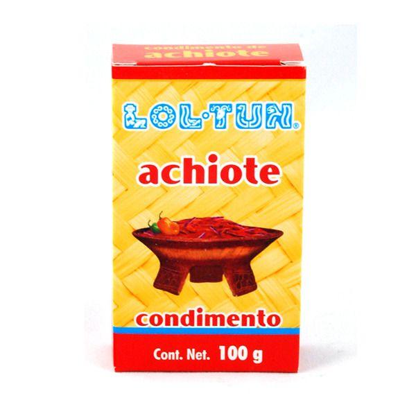 Pasta de Achiote Lol-Tun, 100 g
