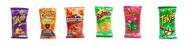 Mexikanische Chips-Set | Botanas
