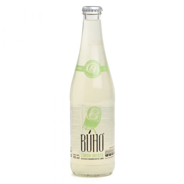 Buho Limette-Minze-Limonade, 355 ml