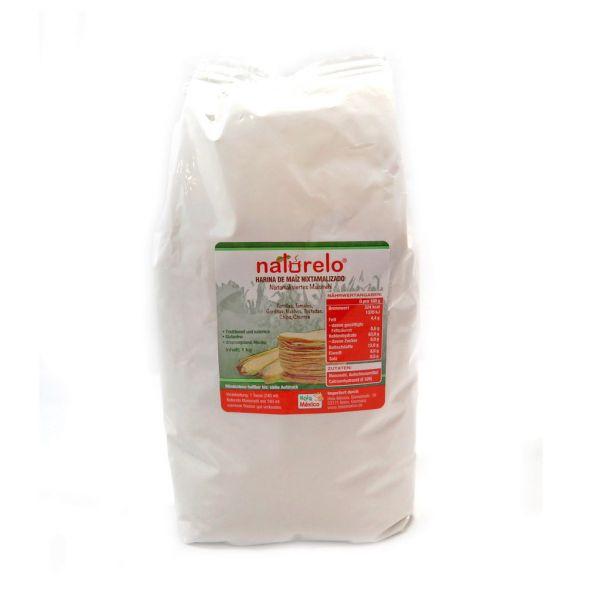 Maismehl für Tortillas (nixtamalisiert), 20 kg Sack