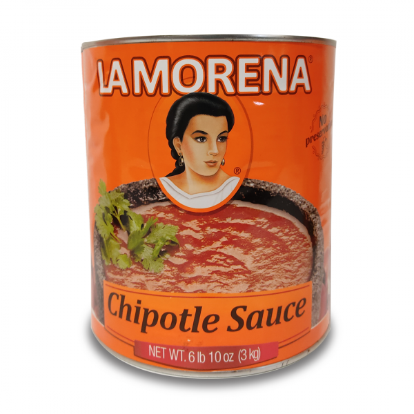 Salsa Chipotle Gross, La Morena, 3 Kg