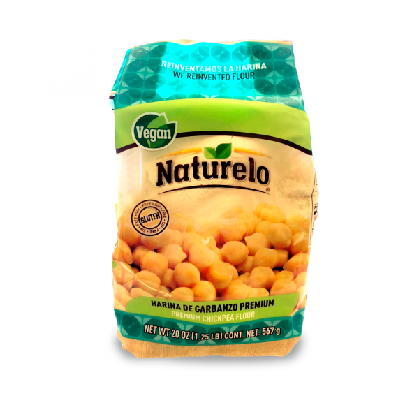 Naturelo harina de garbanzo, 567 g