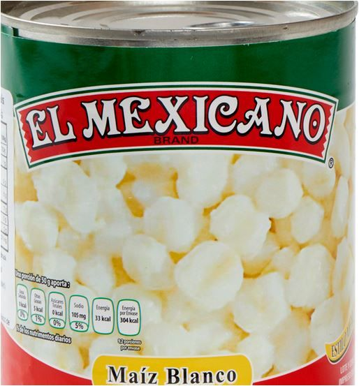 Weißer Mais für Pozole (Maiz Pozolero Blanco), 3,1 kg